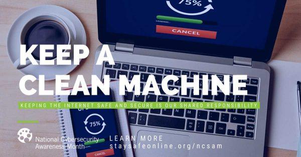 Keep a clean machine