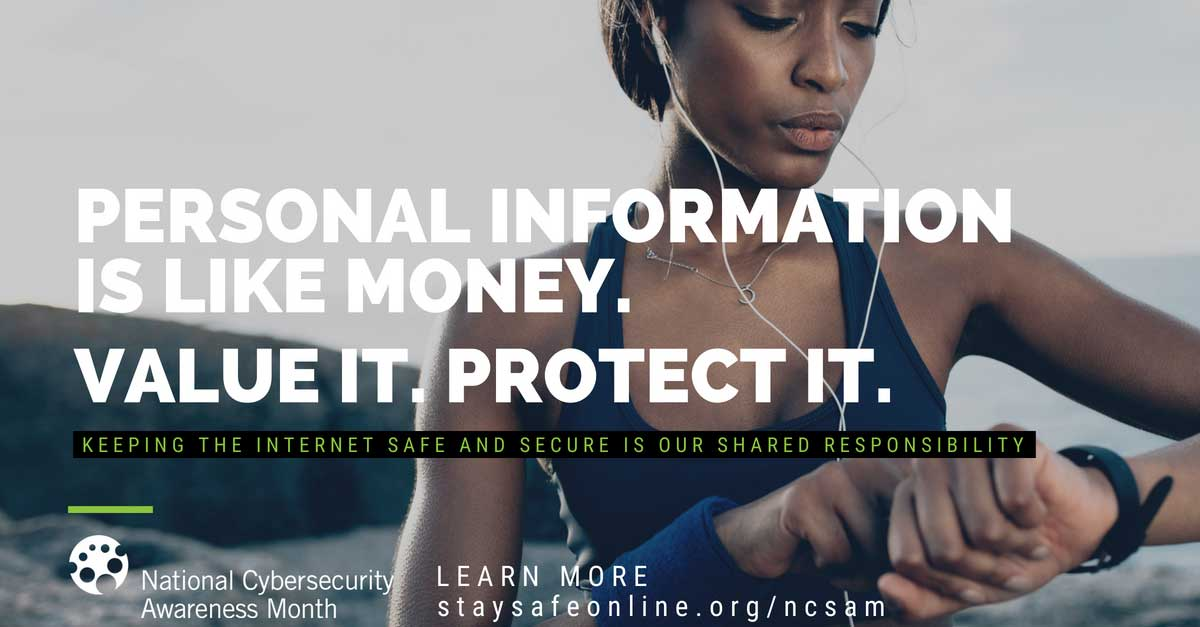 Personal information is like money - Value it and protect it - ncsam